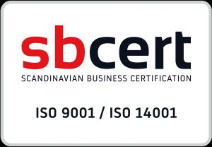 Geovetas sbcert ISO 9001 ISO 14001